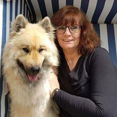 Hundetrainerin Martina Leist